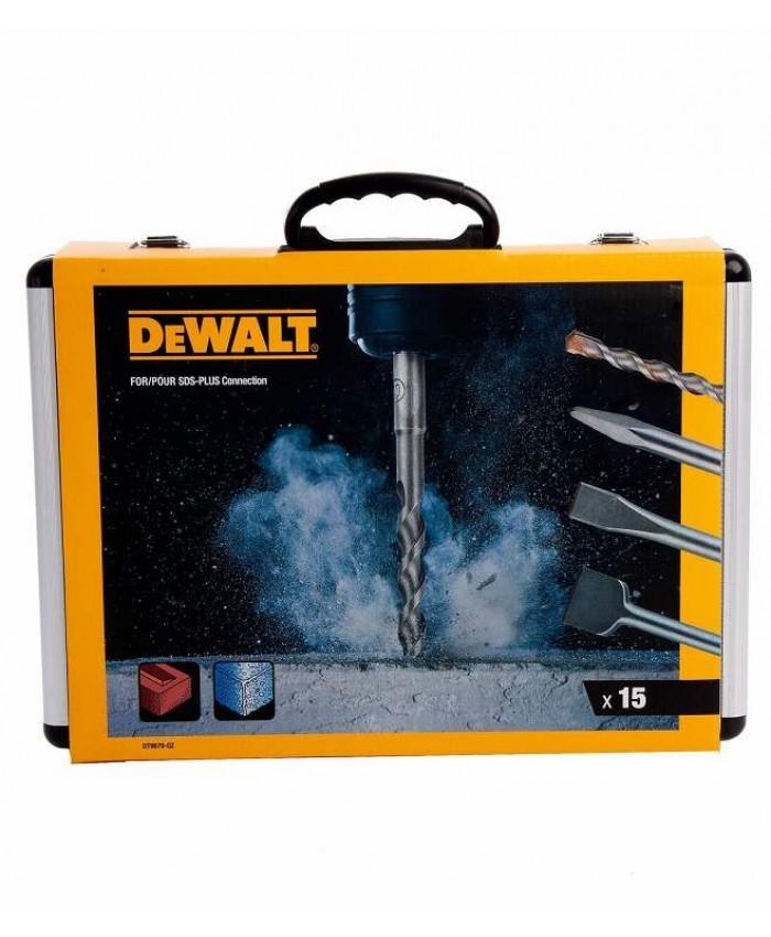 15-delna garnitura svedrov in dlet Dewalt DT9679