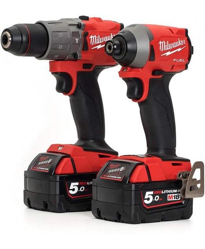 2-delni set orodja Milwaukee M18 FPP2A2-502X