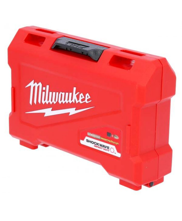 49-delni set vijačnih nastavkov in svedrov Milwaukee Shockwave Impact
