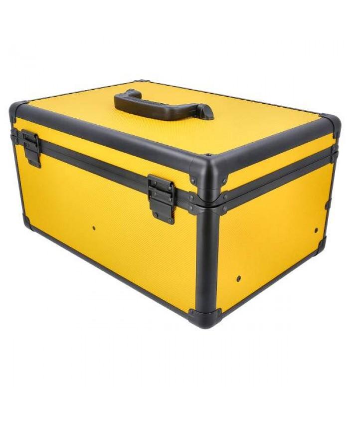 70-delni set pribora v kovčku YELLOW