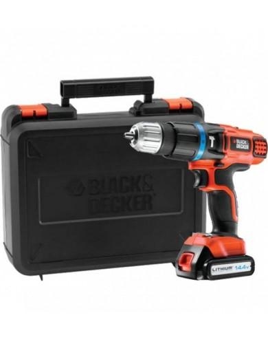 Akumulatorski udarni vrtalnik Black & Decker EGBL148K