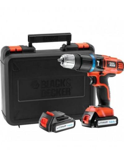 Akumulatorski udarni vrtalnik Black & Decker EGBL148KB