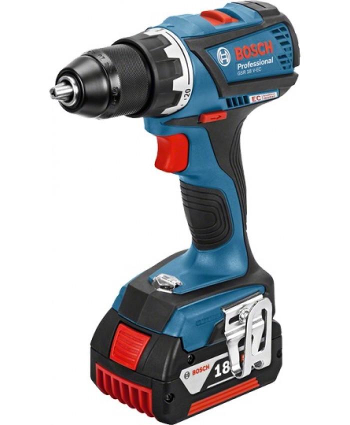 Akumulatorski vrtalnik Bosch GSR 18 V-EC 06019E8104