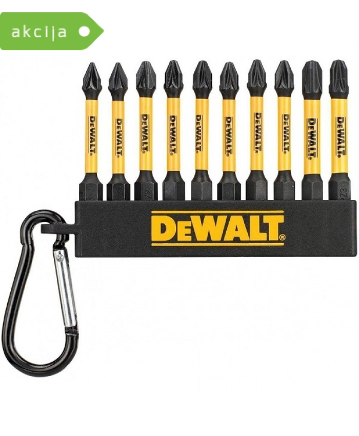 10-delni set vijačnih nastavkov Dewalt DT7276