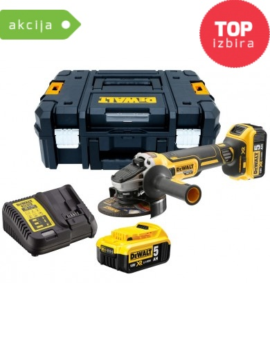 Akumulatorski kotni brusilnik Dewalt DCG405P2