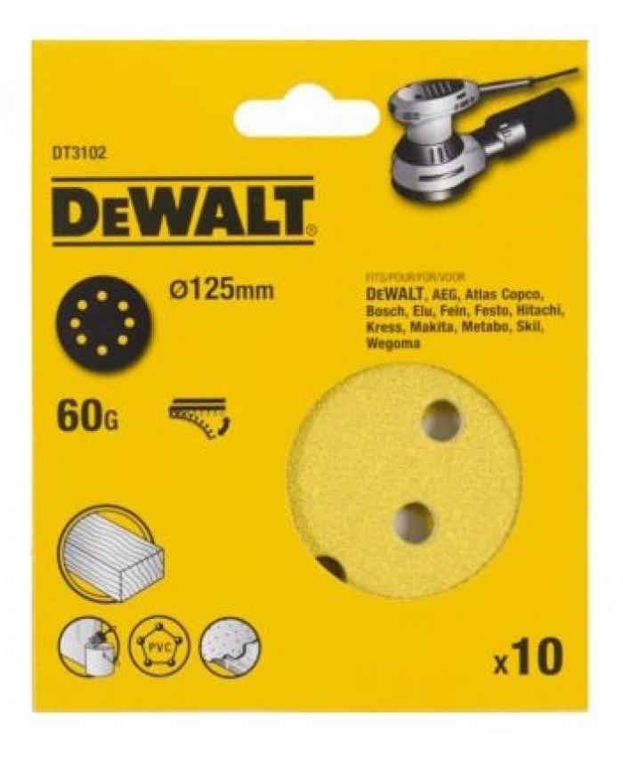 Brusni papir ježek Dewalt