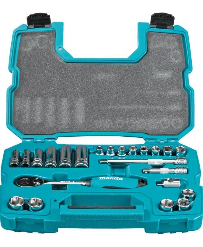 23-delna garnitura nasadnih ključev Makita B-65573
