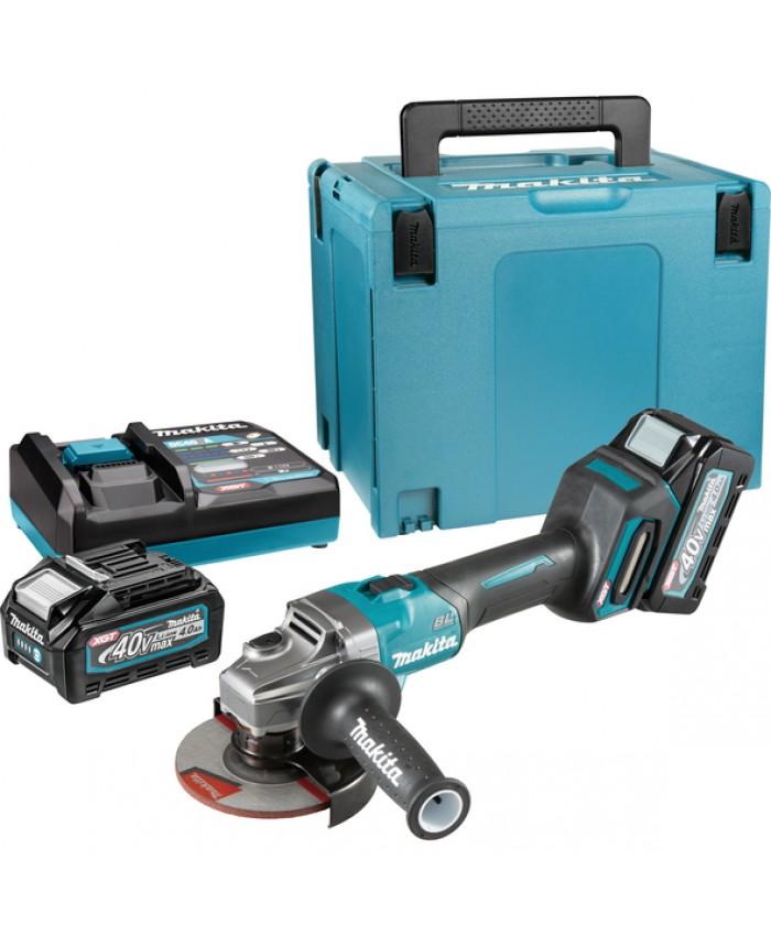 Akumulatorski kotni brusilnik Makita GA008GM201