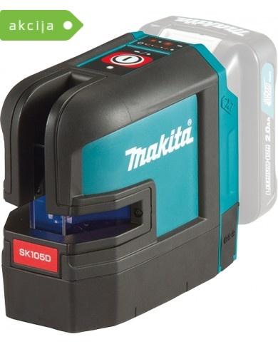 Akumulatorski samonivelirni križni laser Makita SK105DZ
