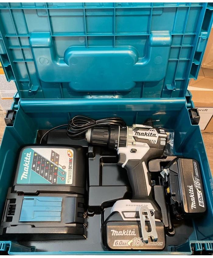 Akumulatorski udarni vrtalnik Makita DHP484MSR6