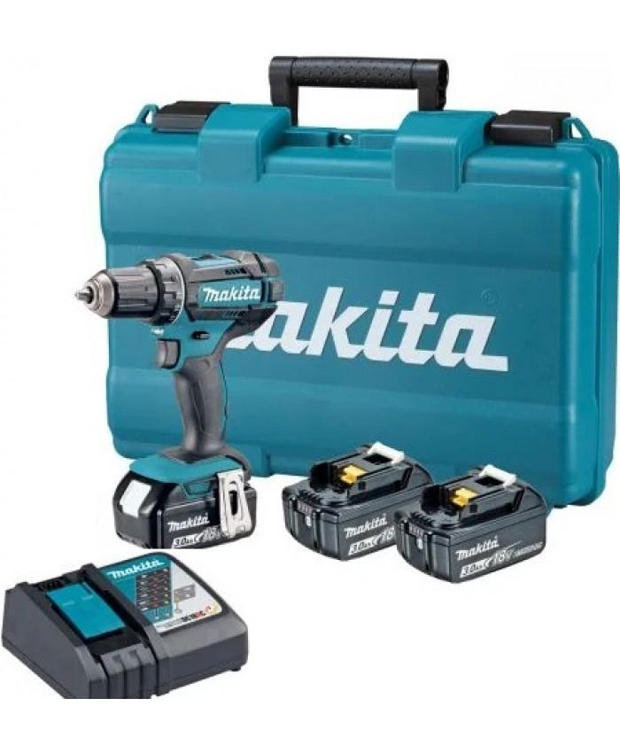 Akumulatorski vrtalnik Makita DDF482RFE3