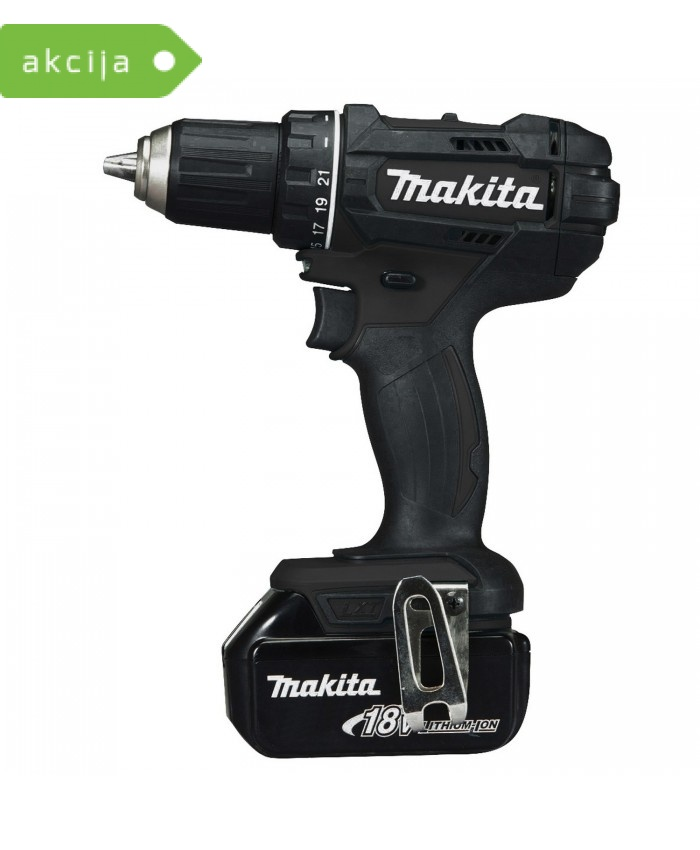 Akumulatorski vrtalnik Makita DDF482RFEB