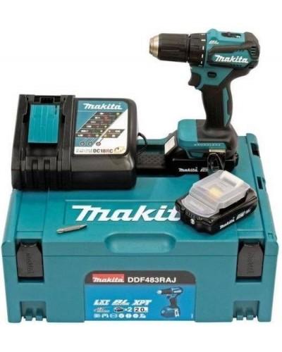 Akumulatorski vrtalnik Makita DDF483RAJ