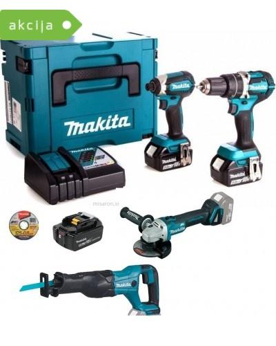4-delni set orodja Makita DLX2127TJMM