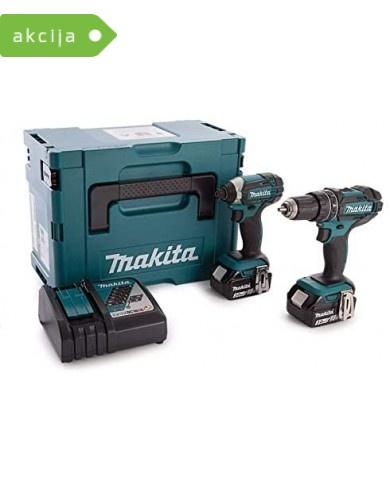 2-delni set orodja Makita DLX2131JX1
