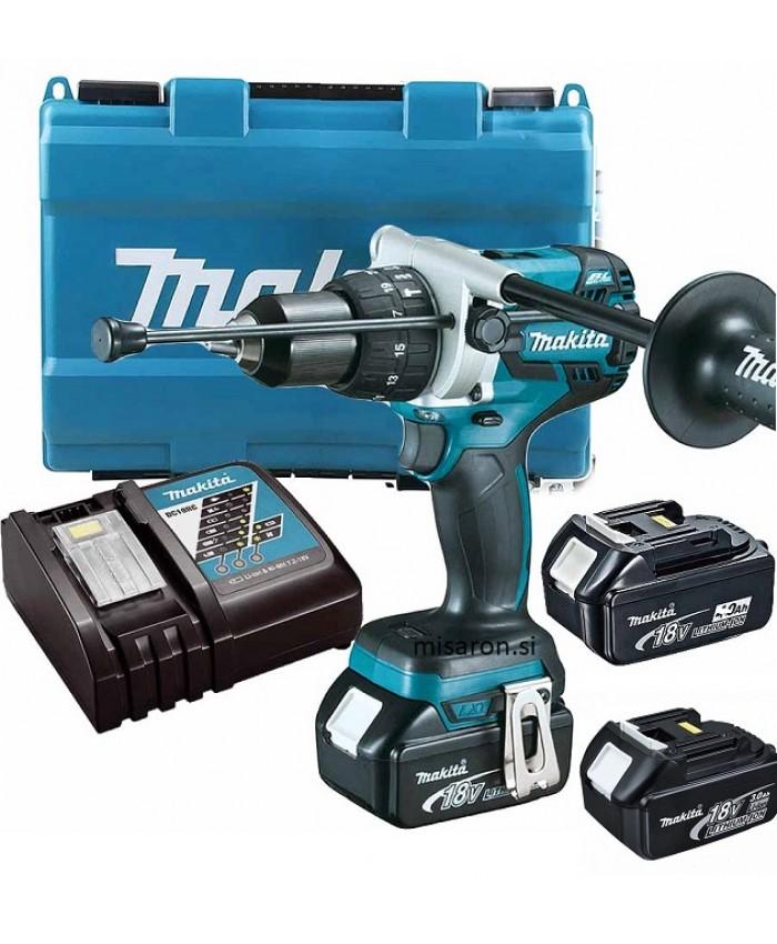 Akumulatorski udarni vrtalnik Makita DHP481RFE3