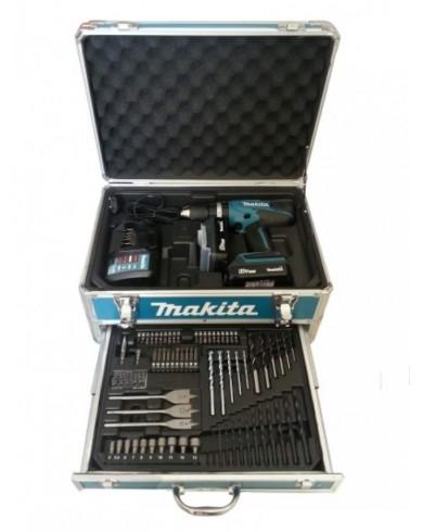 Akumulatorski vrtalnik Makita DF457DWEX3