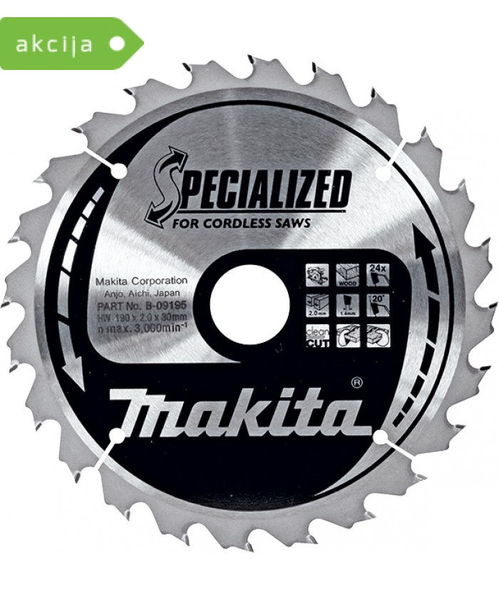 Žagin list Makita B-09167