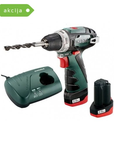 Akumulatorski vrtalnik Metabo PowerMaxx BS Basic