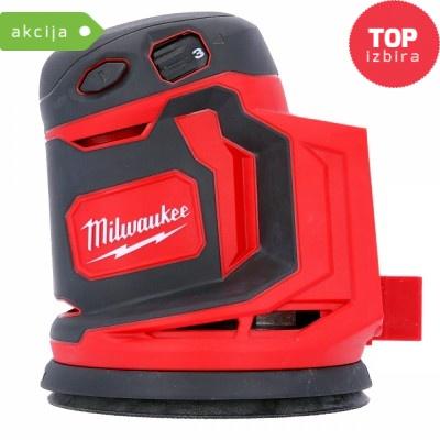 Akumulatorski vibracijski brusilnik Milwaukee M18 BOS125-0