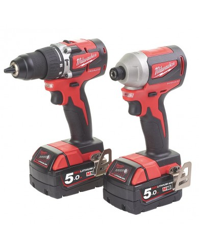 2-delni set orodja Milwaukee M18 CBLPP2A-502C