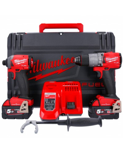 2-delni set orodja Milwaukee M18 ONEPP2A2-502X