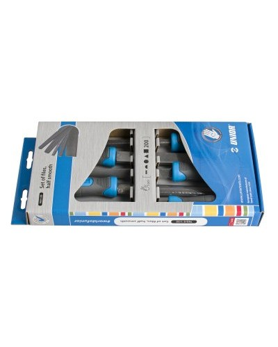 Garnitura polfinih pil Unior 762/5 1/2S