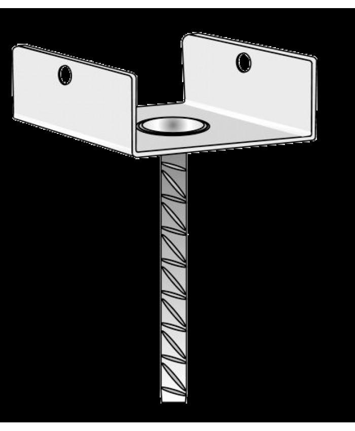 Podstavek za steber s sidrom