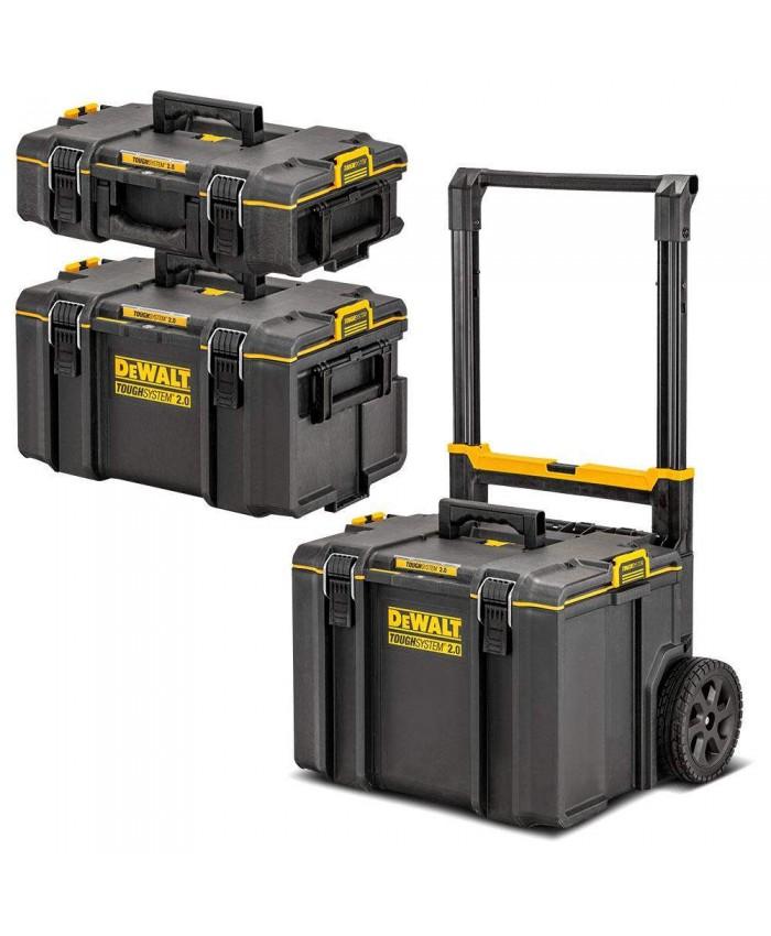 Set kovčkov na kolesih Dewalt DWST83402-1