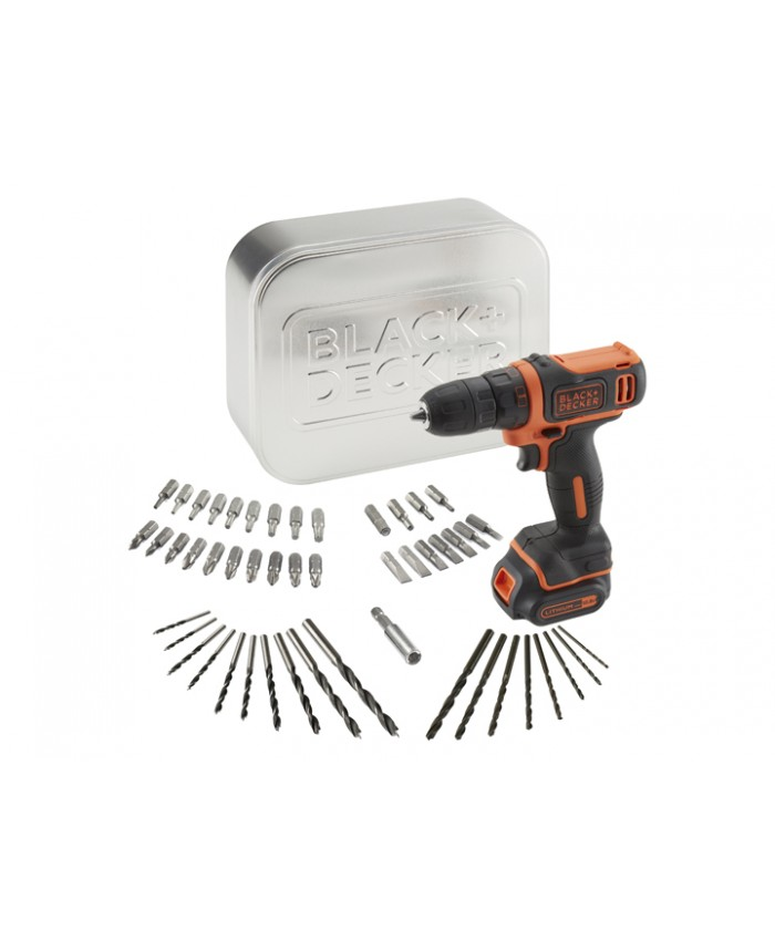 Akumulatorski vrtalnik Black & Decker BDCDD12AT