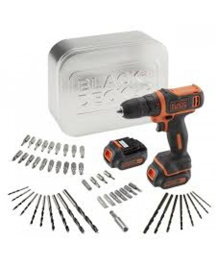 Akumulatorski vrtalnik Black & Decker BDCDD12BAT
