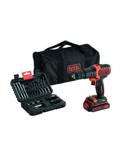 Akumulatorski udarni vrtalnik Black & Decker BDCHD18S32