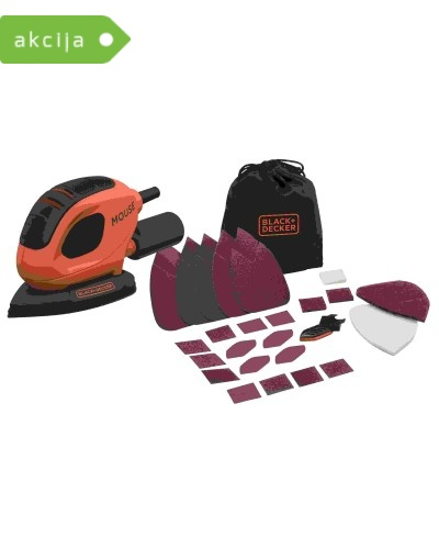 Vibracijski brusilnik Black & Decker BEW230BCA