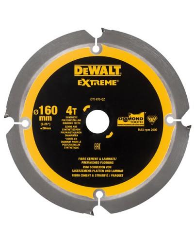 List krožne žage za cement 160/20 4 ZOB Dewalt DT1470