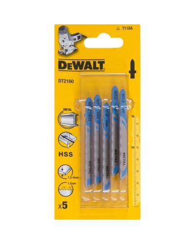 Garnitura listov za vbodno žago Dewalt DT2160