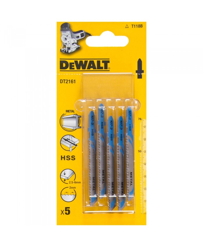 Garnitura listov za vbodno žago Dewalt DT2161