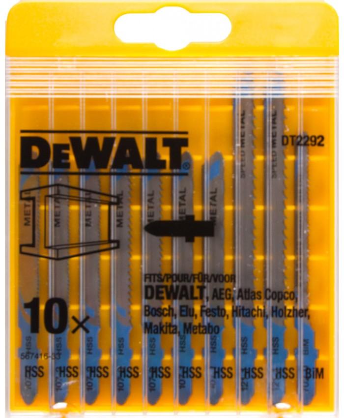 Garnitura listov za vbodno žago Dewalt DT2292