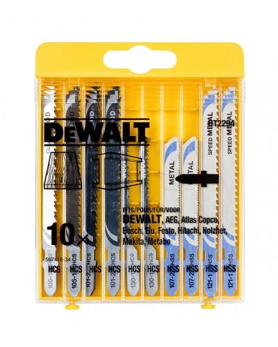 Garnitura listov za vbodno žago Dewalt DT2294