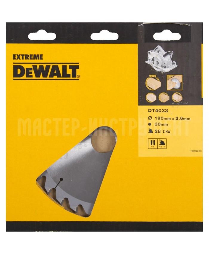 List za krožno žago Dewalt DT4033