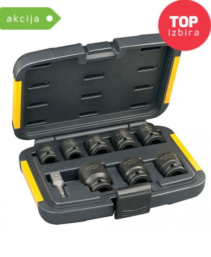 9-delni set nasadnih ključev Dewalt DT7507