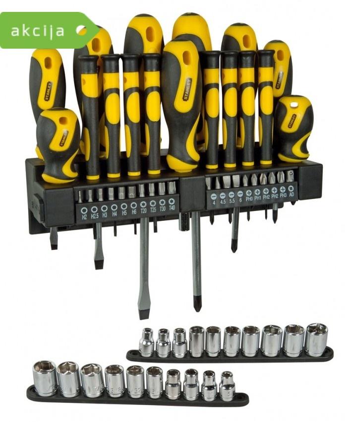 57-delni set izvijačev Stanley STHT0-62143